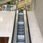 Coutts Bank Social Distancing Awareness Escalator Step Branding