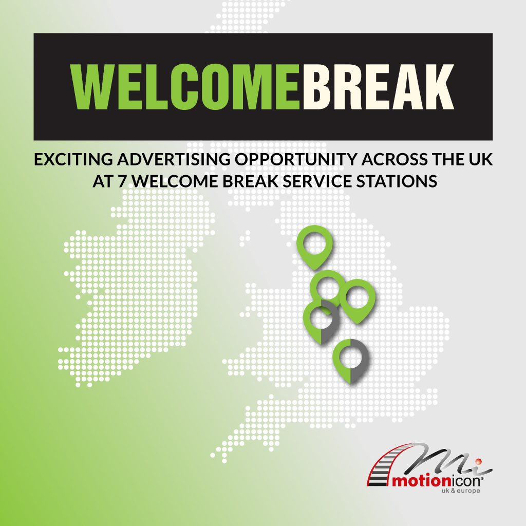 Motion Icon UK and Europe Welcome Break UK Advertising Opportunity